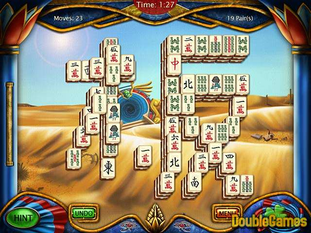 Free Download Art Mahjongg Egypt Screenshot 1