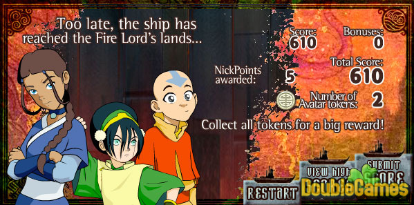 Free Download Avatar. The Last Airbender: Elemental Escape Screenshot 3