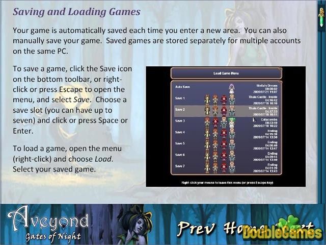 Free Download Aveyond: Gates of Night Strategy Guide Screenshot 2