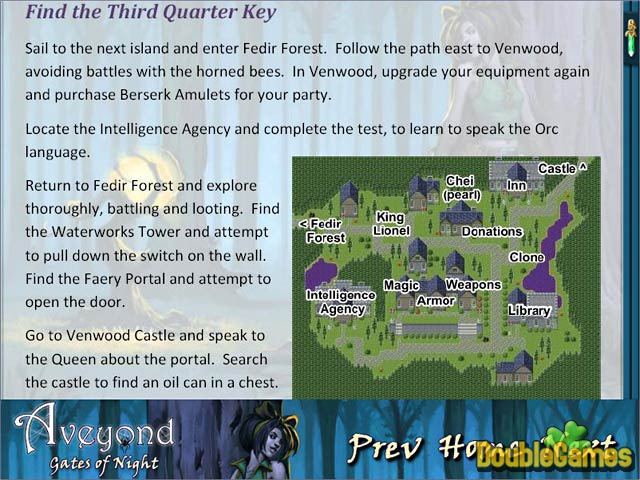 Free Download Aveyond: Gates of Night Strategy Guide Screenshot 3