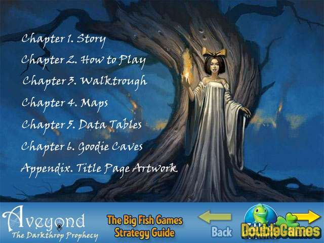 Free Download Aveyond: The Darkthrop Prophecy Strategy Guide Screenshot 1