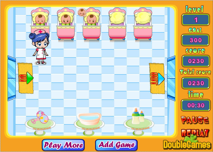 Free Download Baby Care Rush Screenshot 2