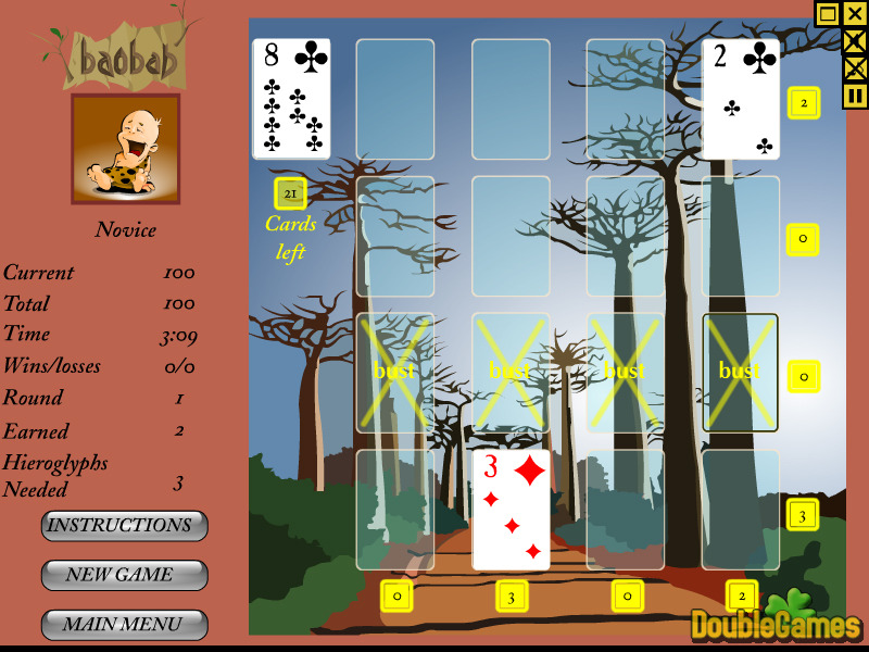 Free Download Baobab Solitaire Screenshot 3