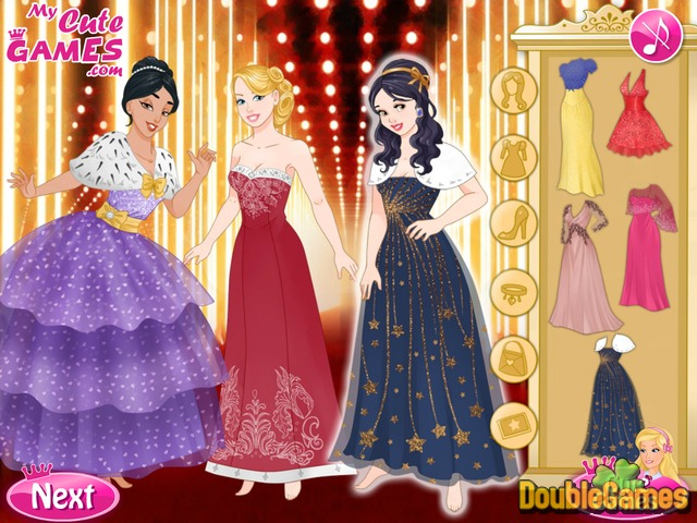 Free Download Barbie and The Princesses: Oscar Ceremony Screenshot 2