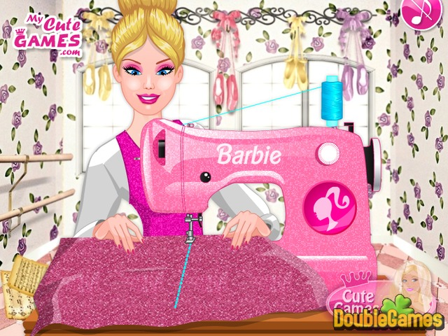 Free Download Barbie in Pink Shoes Designer Screenshot 2