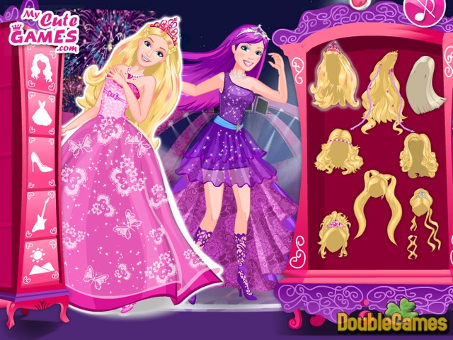 Free Download Barbie Princess and Pop-Star Screenshot 1