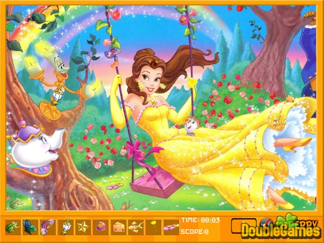 Free Download Beauty and The Beast Hidden Objects Screenshot 1
