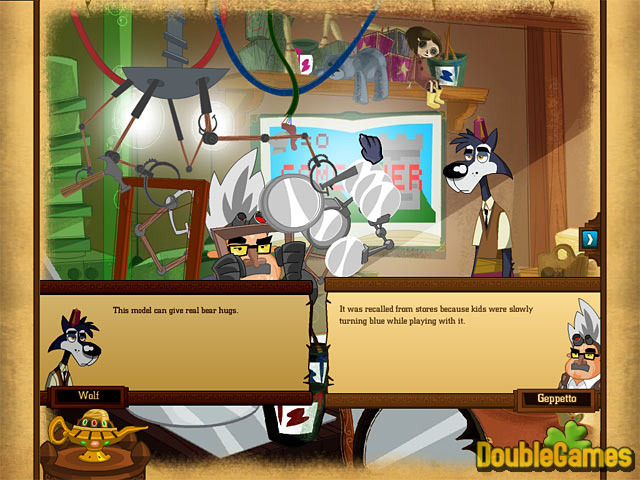 Free Download Big Brain Wolf Screenshot 1
