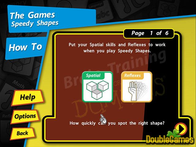 Free Download Brain Training for Dummies Screenshot 2