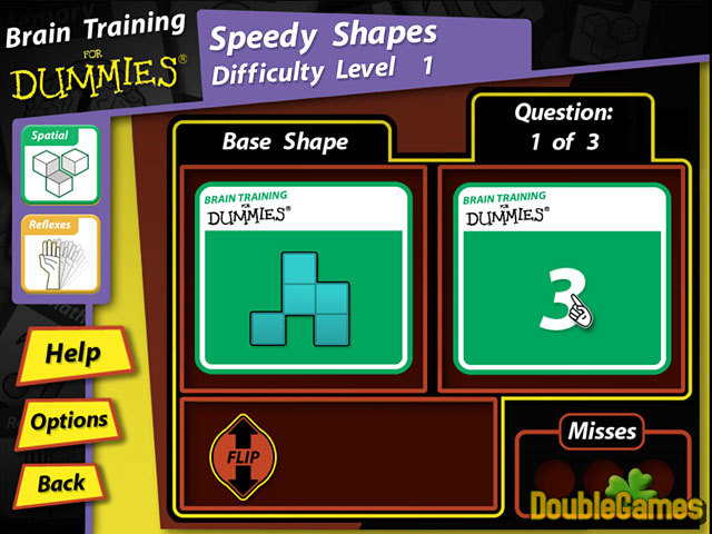 Free Download Brain Training for Dummies Screenshot 3