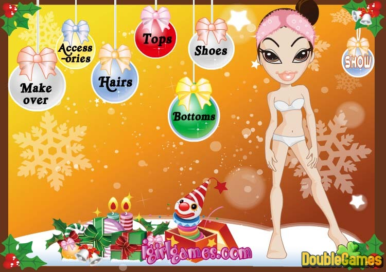 Free Download Bratz's Fashion Christmas Screenshot 1