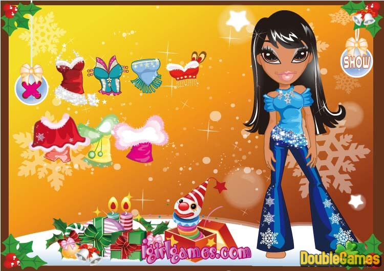 Free Download Bratz's Fashion Christmas Screenshot 3