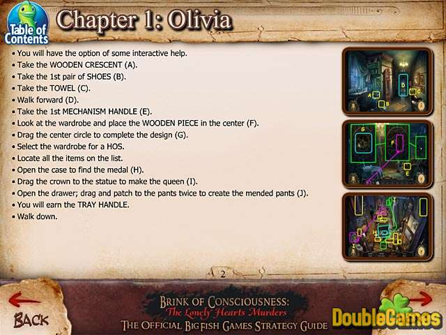 Free Download Brink of Consciousness: The Lonely Hearts Murders Strategy Guide Screenshot 1
