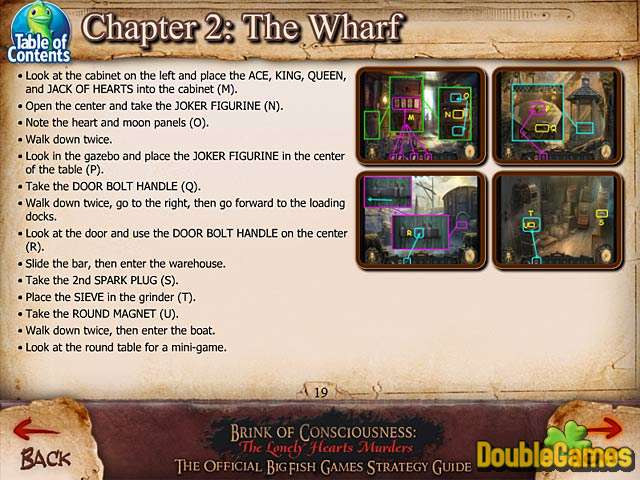 Free Download Brink of Consciousness: The Lonely Hearts Murders Strategy Guide Screenshot 3