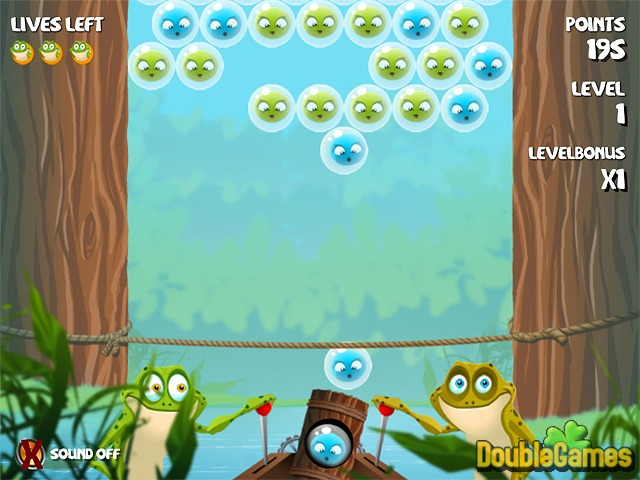Free Download Bubble Frog Screenshot 1