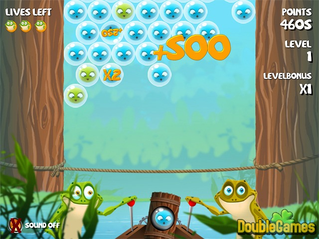 Free Download Bubble Frog Screenshot 2