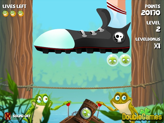 Free Download Bubble Frog Screenshot 3