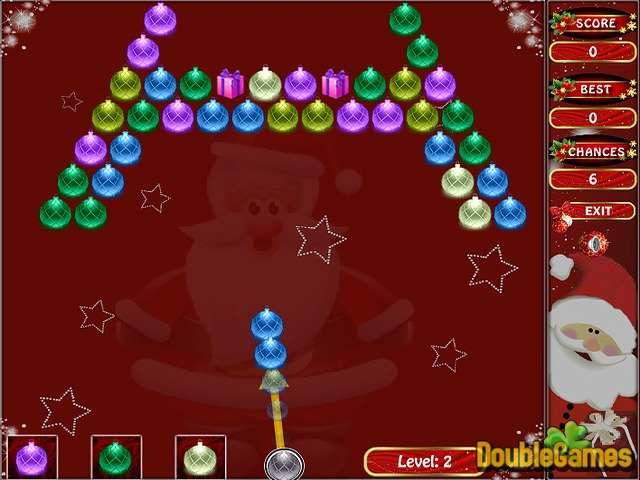 Free Download Bubble Shooting: Christmas Special Screenshot 2