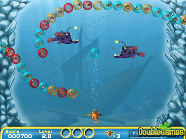 Free Download Bubblefish Bob Screenshot 1