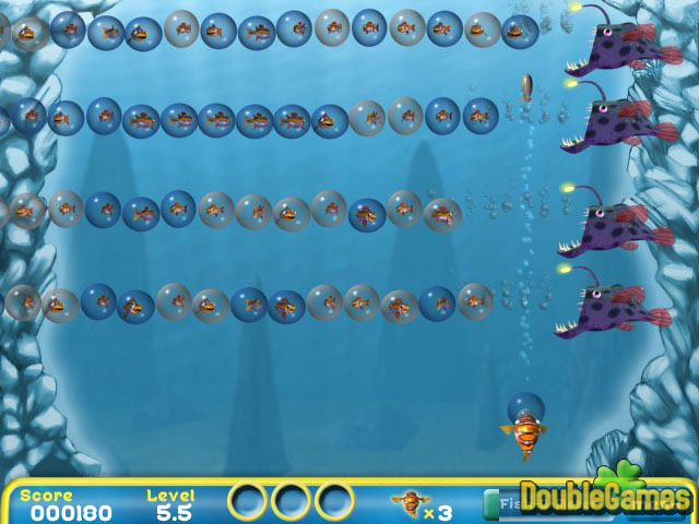 Free Download Bubblefish Bob Screenshot 2
