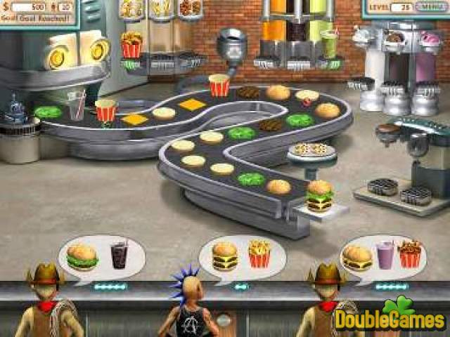 Screenshot descargo de Burger Shop Double Pack 1