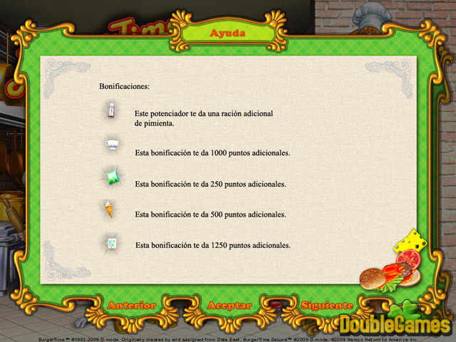 Free Download Burger Time Deluxe Screenshot 2