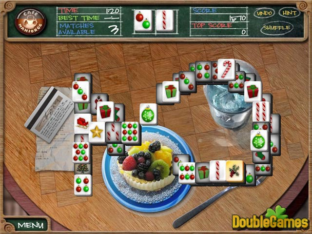 Free Download Cafe Mahjongg Screenshot 3