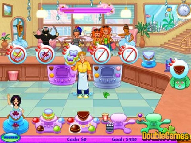 Free Download Cake Mania: Lights, Camera, Action! Screenshot 1