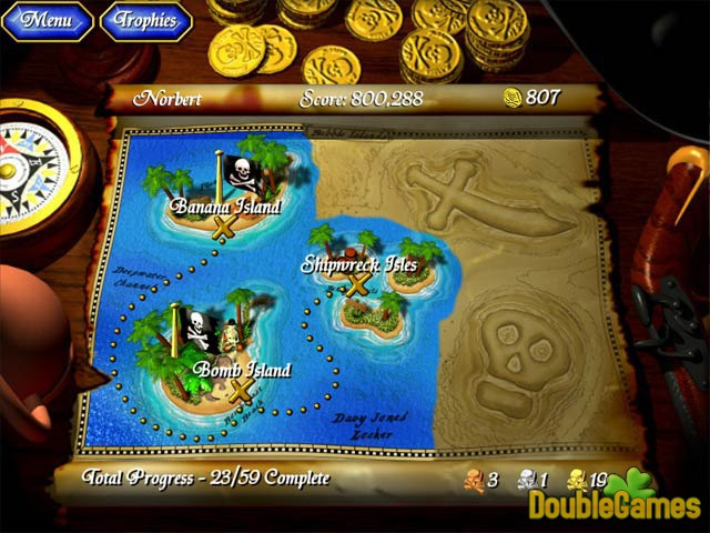 Free Download Captain BubbleBeard's Treasure Screenshot 2