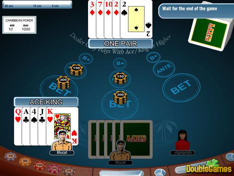 Free Download Carribean Stud Poker Screenshot 1