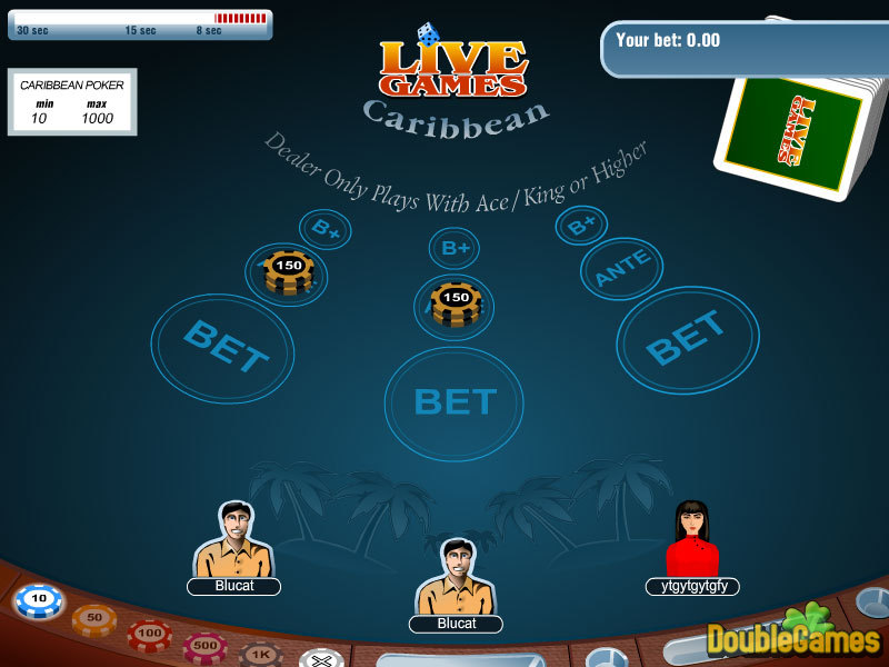 Free Download Carribean Stud Poker Screenshot 2