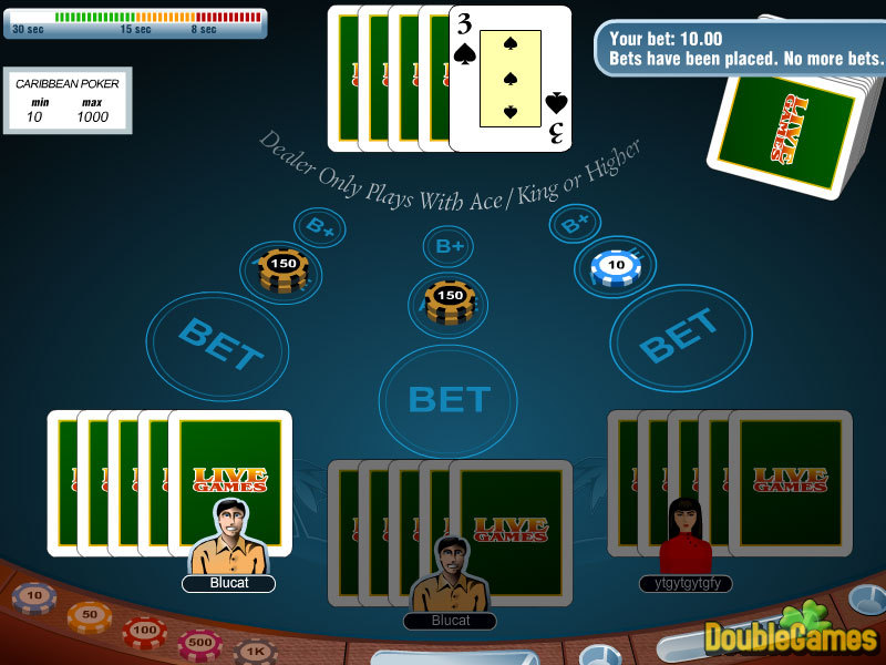 Free Download Carribean Stud Poker Screenshot 3