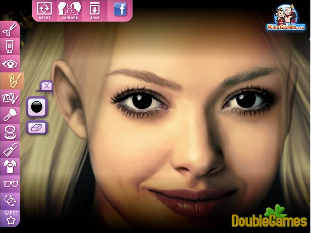 Free Download Celebrities Make Up: Amanda Seyfried Screenshot 1