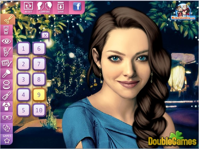 Free Download Celebrities Make Up: Amanda Seyfried Screenshot 3