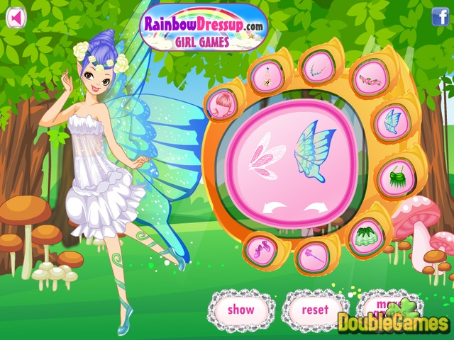 Free Download Charming Looking Fairy Screenshot 2