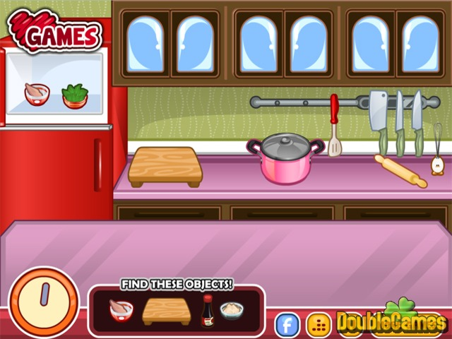 Screenshot descargo de Chef Barbie. Chicken Ramen 2