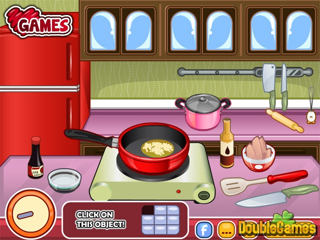 Screenshot descargo de Chef Barbie. Chicken Ramen 3