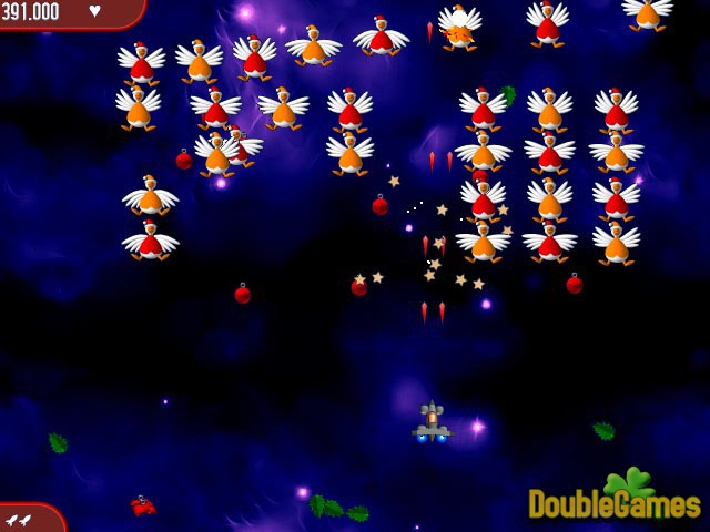 Free Download Chicken Invaders 2 Christmas Edition Screenshot 3