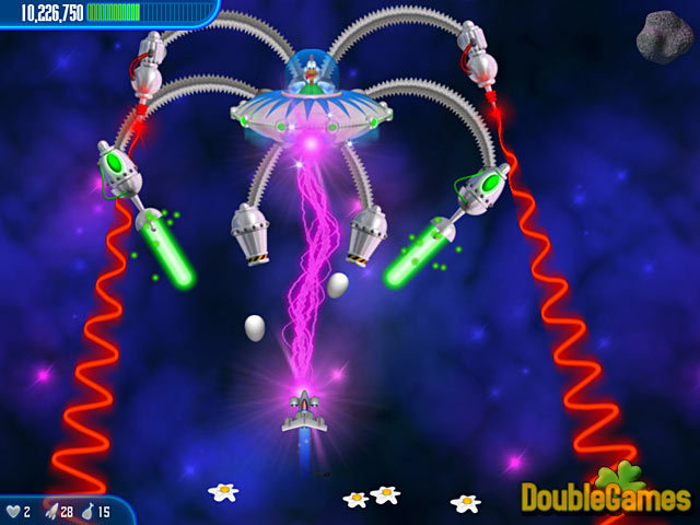 Free Download Chicken Invaders 3 Screenshot 1