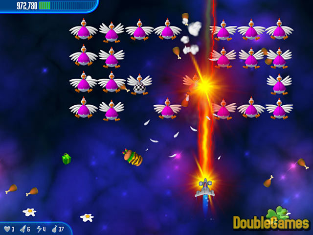 Free Download Chicken Invaders 3 Screenshot 2