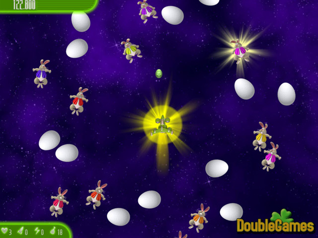 Free Download Chicken Invaders 4: Ultimate Omelette Easter Edition Screenshot 1