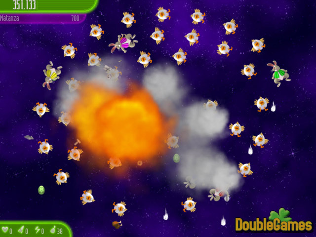 Free Download Chicken Invaders 4: Ultimate Omelette Easter Edition Screenshot 2