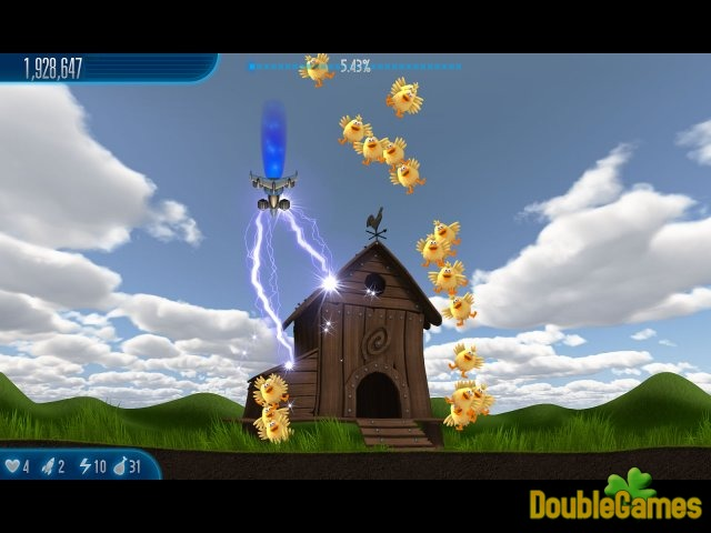 Free Download Chicken Invaders 5: Cluck of the Dark Side Screenshot 3