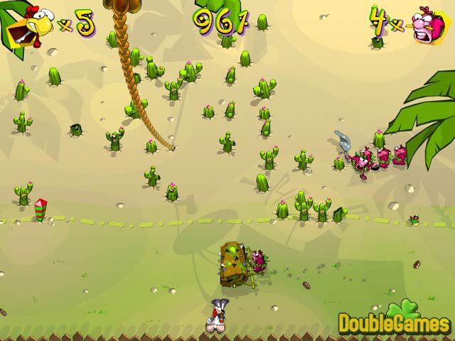 Free Download Chicken Rush Deluxe Screenshot 1
