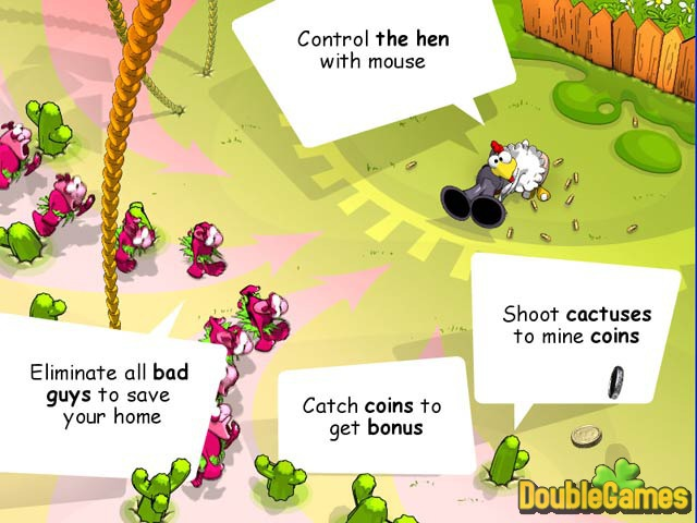 Free Download Chicken Rush Deluxe Screenshot 3