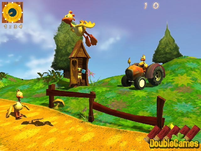 Screenshot descargo de Chicken Village 1