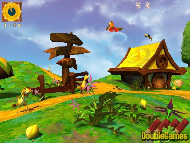 Screenshot descargo de Chicken Village 2