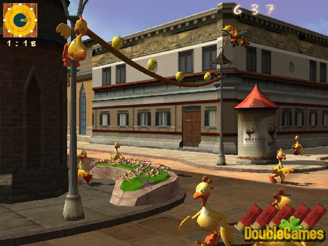 Screenshot descargo de Chicken Village 3