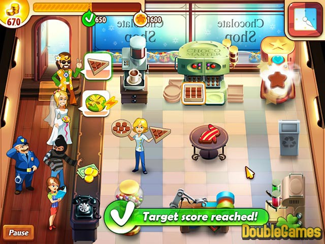 Screenshot descargo de Chocolate Shop Frenzy 3