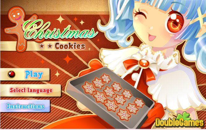 Free Download Christmas Cookie Shop Screenshot 1